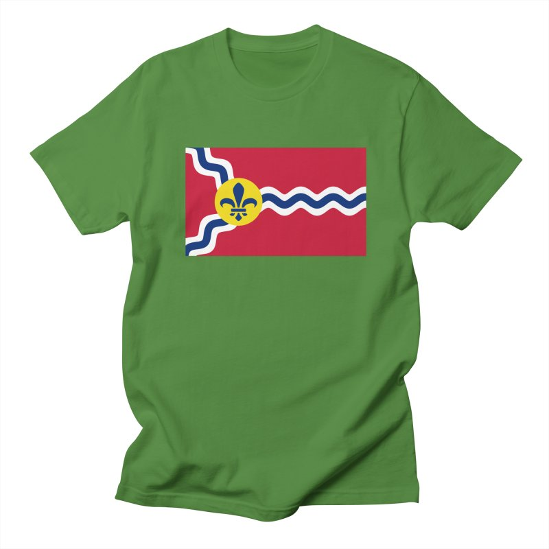 Saint Louis City Flag Men's Regular T-Shirt by OR designs