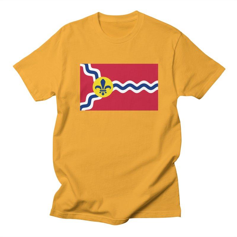 Saint Louis City Flag Women's Regular Unisex T-Shirt by OR designs