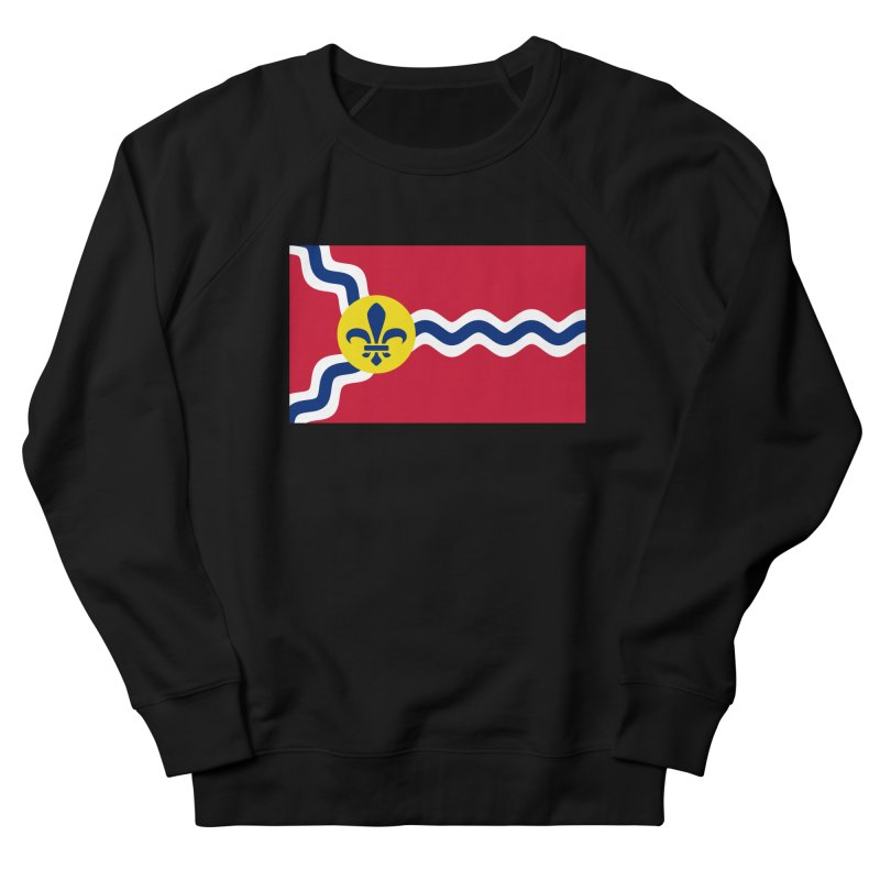 Saint Louis City Flag Women's French Terry Sweatshirt by OR designs