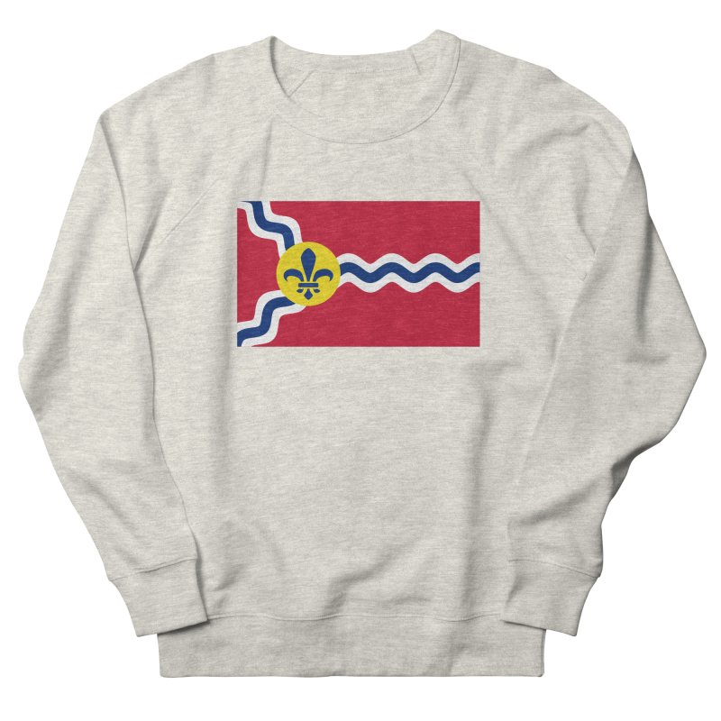Saint Louis City Flag Men's French Terry Sweatshirt by OR designs