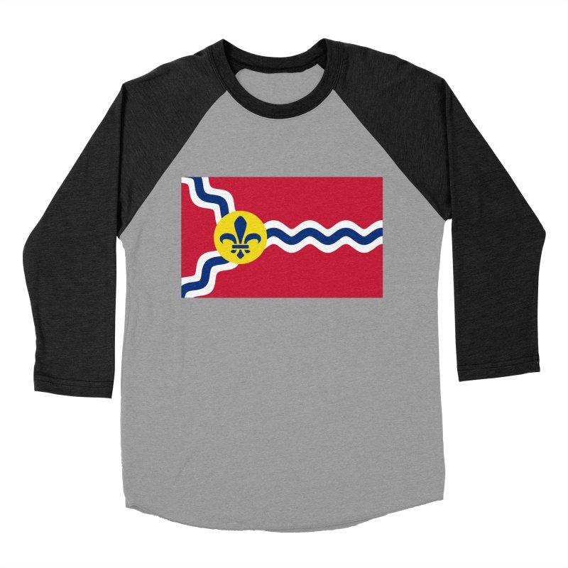 Saint Louis City Flag Women's Baseball Triblend Longsleeve T-Shirt by OR designs