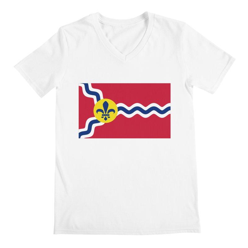 Saint Louis City Flag Men's V-Neck by OR designs