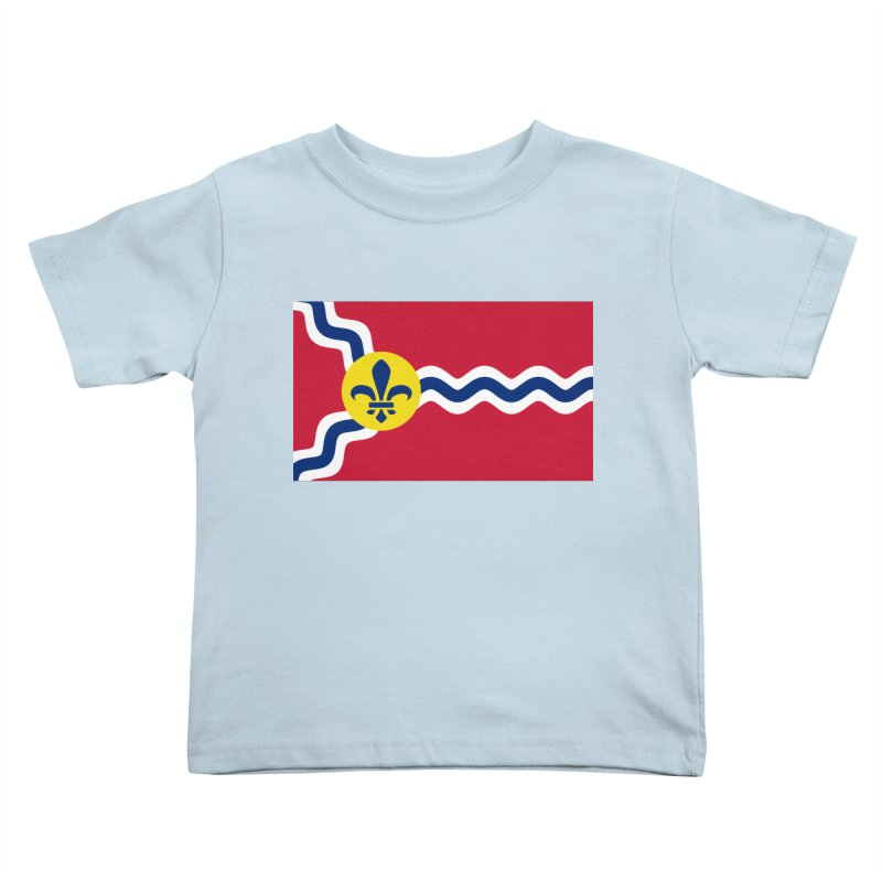 Saint Louis City Flag Kids Toddler T-Shirt by OR designs