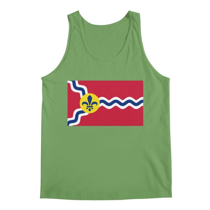 Saint Louis City Flag Men's Tank by OR designs