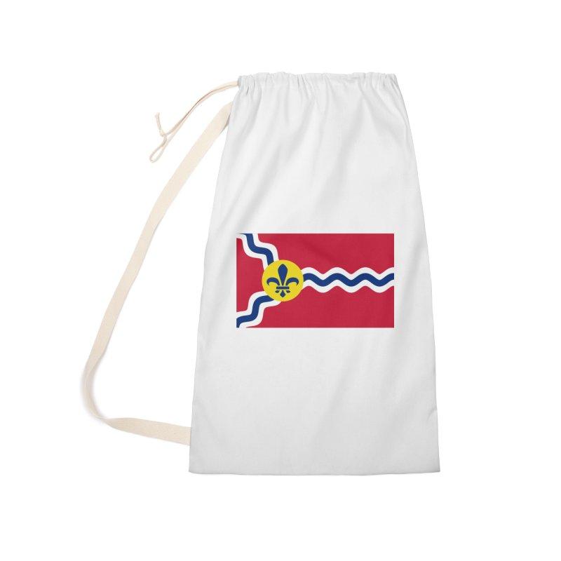 Saint Louis City Flag Accessories Bag by OR designs