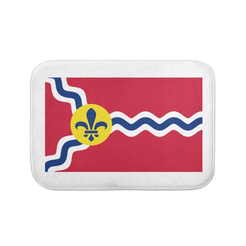 Saint Louis City Flag Home Bath Mat by OR designs