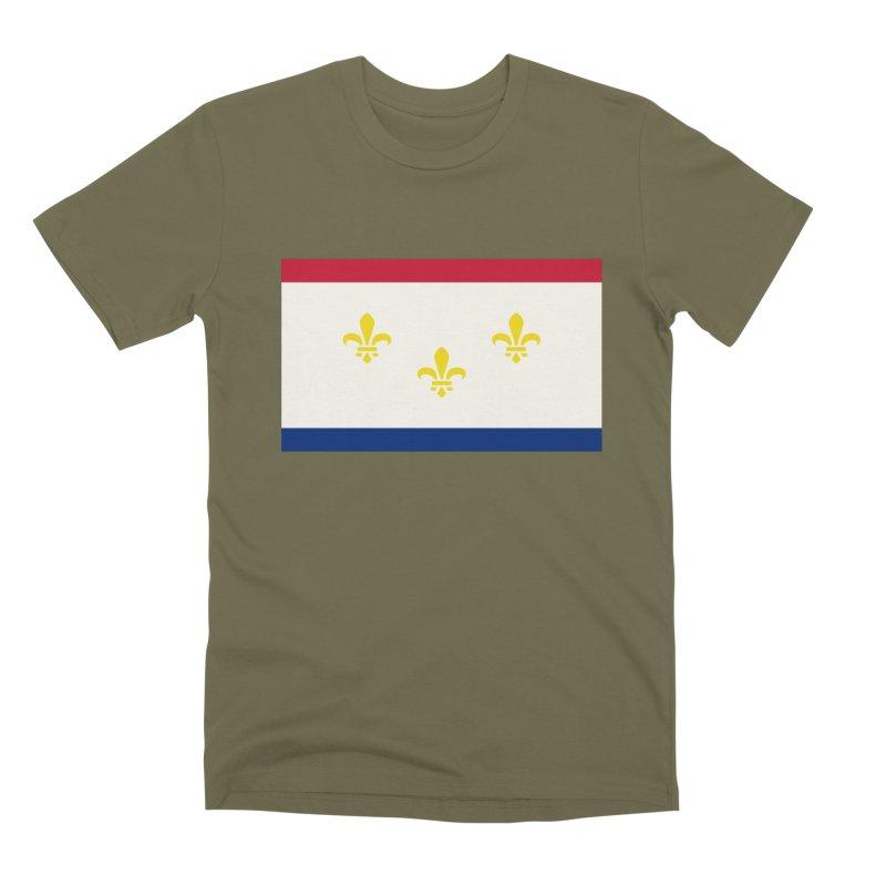 New Orleans City Flag Men's Premium T-Shirt by OR designs