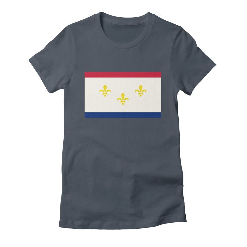 New Orleans City Flag Women's T-Shirt by OR designs