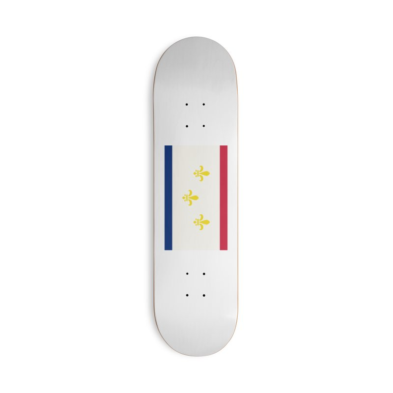 New Orleans City Flag Accessories Deck Only Skateboard by OR designs