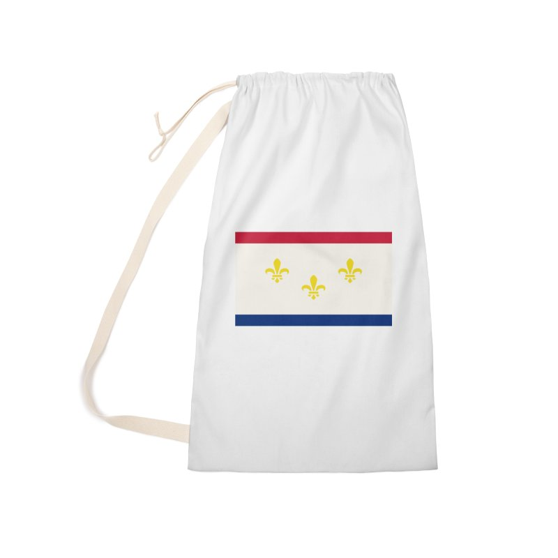 New Orleans City Flag Accessories Bag by OR designs