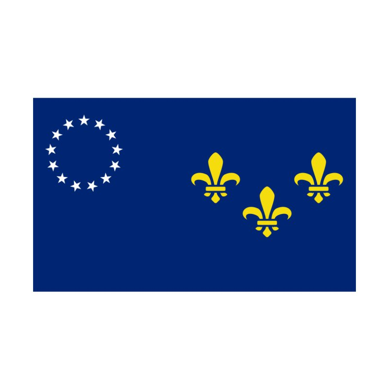 Louisville City Flag Accessories Skateboard by OR designs