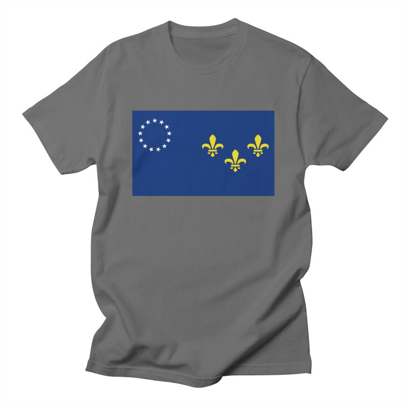 Louisville City Flag Men's T-Shirt by OR designs