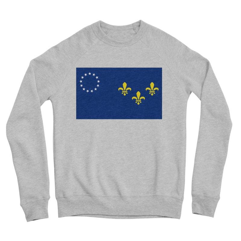Louisville City Flag Women's Sponge Fleece Sweatshirt by OR designs