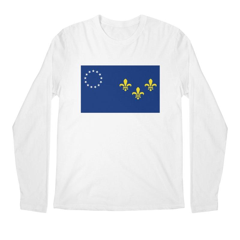 Louisville City Flag Men's Regular Longsleeve T-Shirt by OR designs