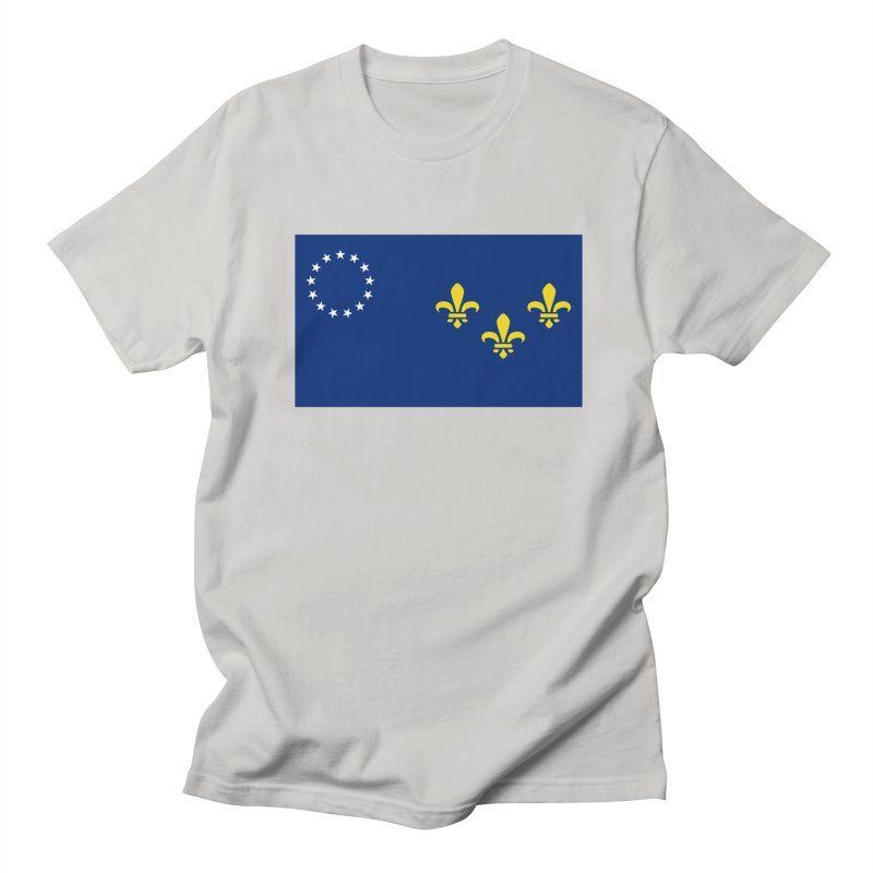 Louisville City Flag Women's Regular Unisex T-Shirt by OR designs