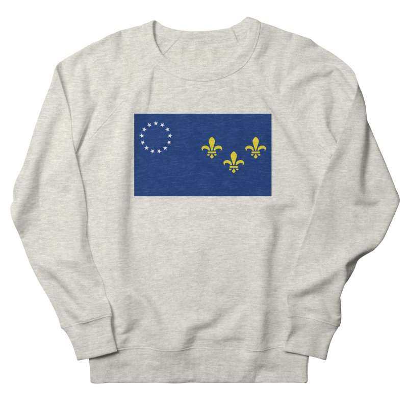 Louisville City Flag Women's French Terry Sweatshirt by OR designs