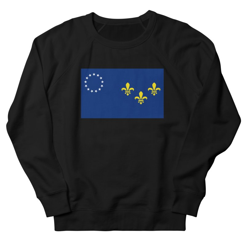 Louisville City Flag Men's French Terry Sweatshirt by OR designs