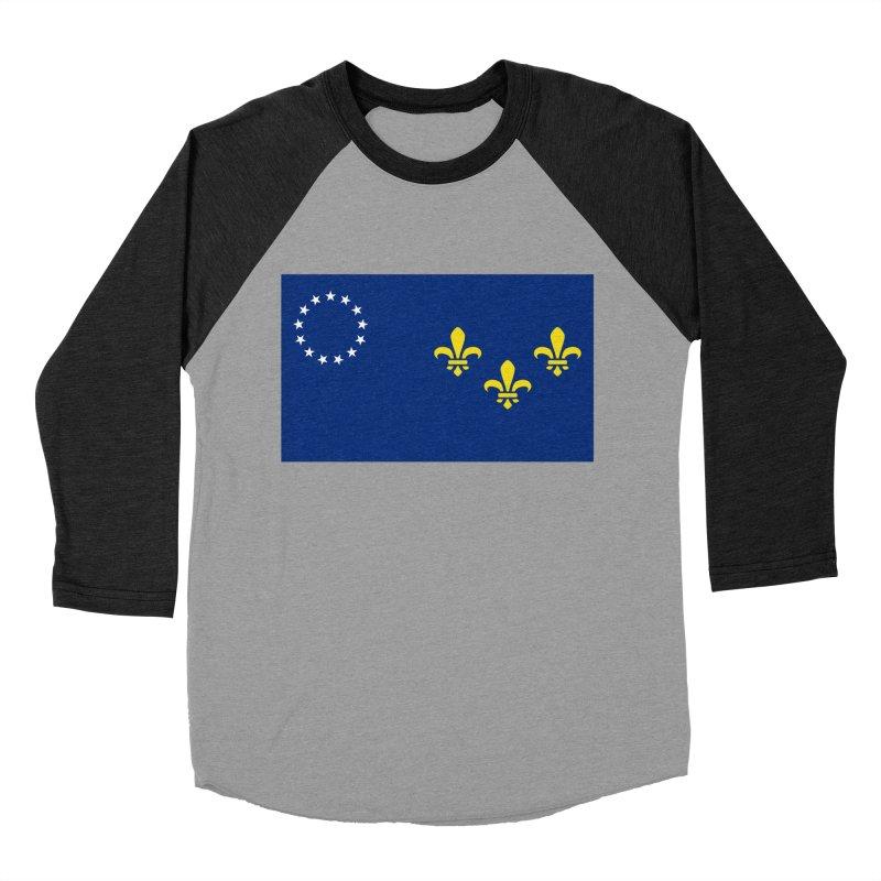 Louisville City Flag Women's Baseball Triblend Longsleeve T-Shirt by OR designs