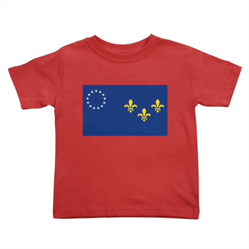 Louisville City Flag Kids Toddler T-Shirt by OR designs