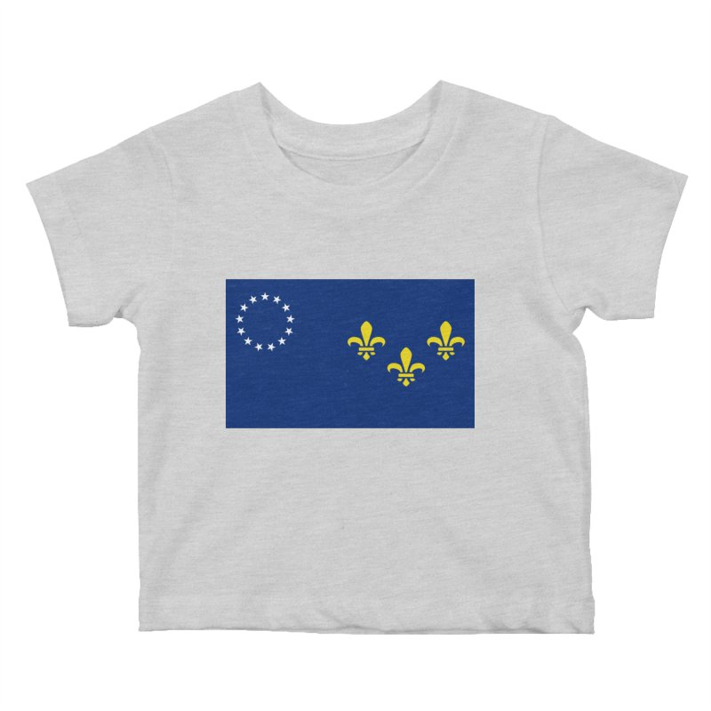 Louisville City Flag Kids Baby T-Shirt by OR designs