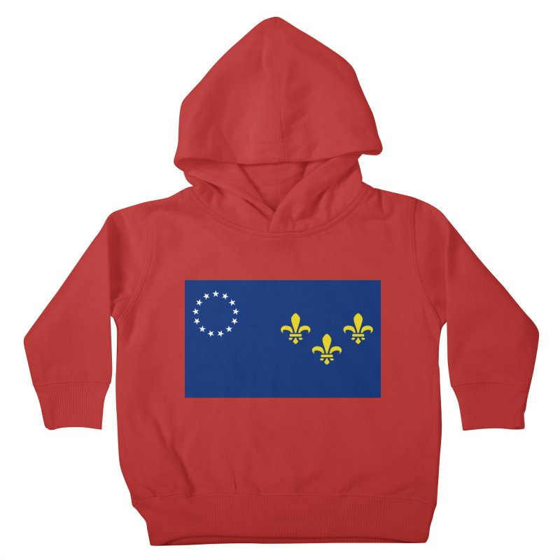 Louisville City Flag Kids Toddler Pullover Hoody by OR designs