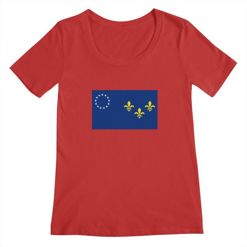 Louisville City Flag Women's Regular Scoop Neck by OR designs