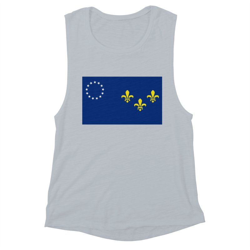 Louisville City Flag Women's Muscle Tank by OR designs