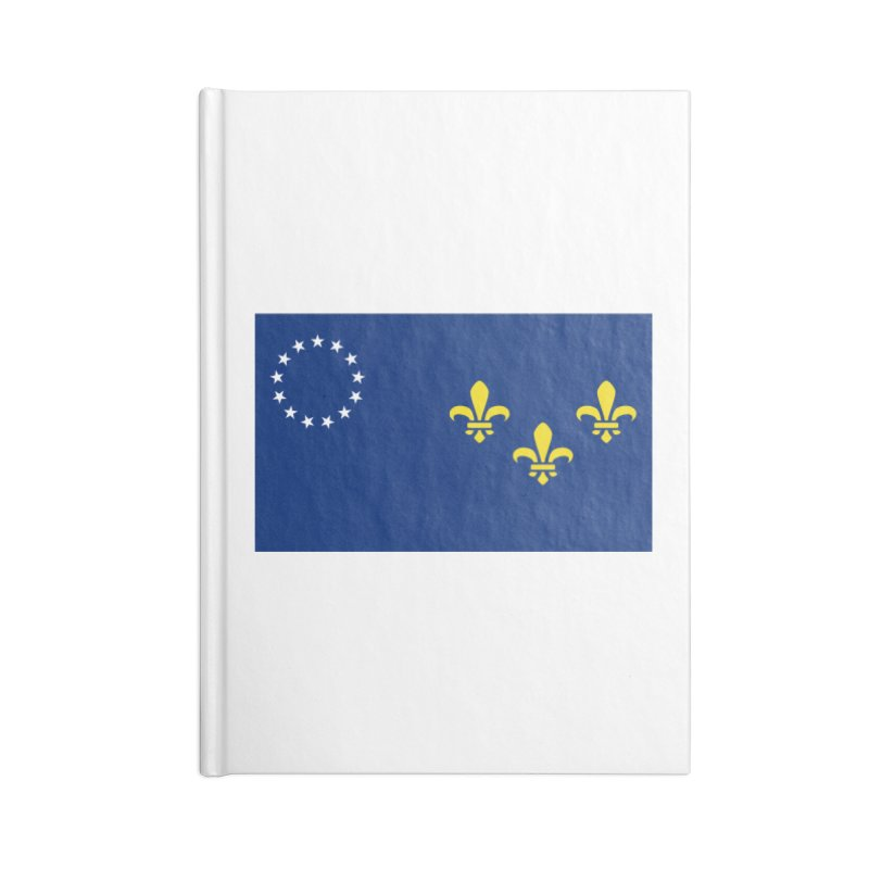 Louisville City Flag Accessories Notebook by OR designs
