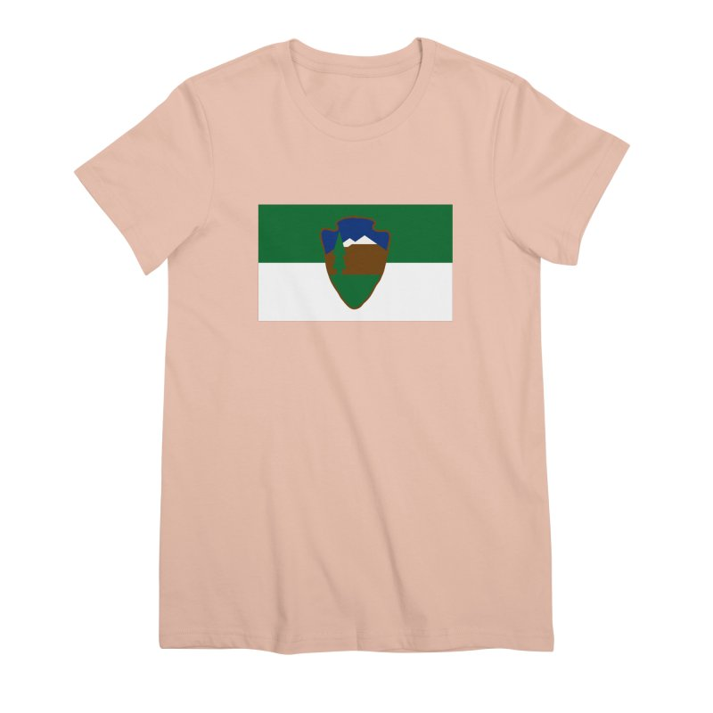 National Park Service Flag Women's Premium T-Shirt by OR designs
