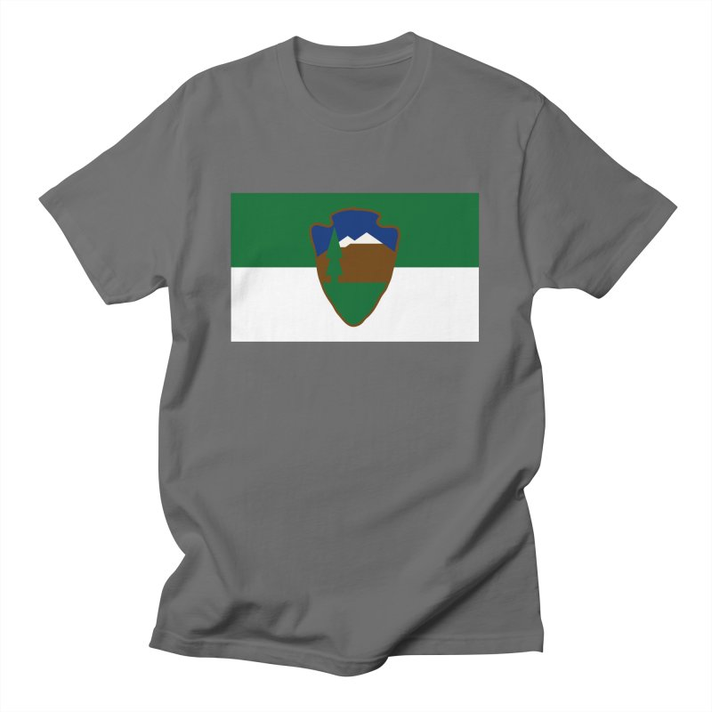 National Park Service Flag Men's T-Shirt by OR designs