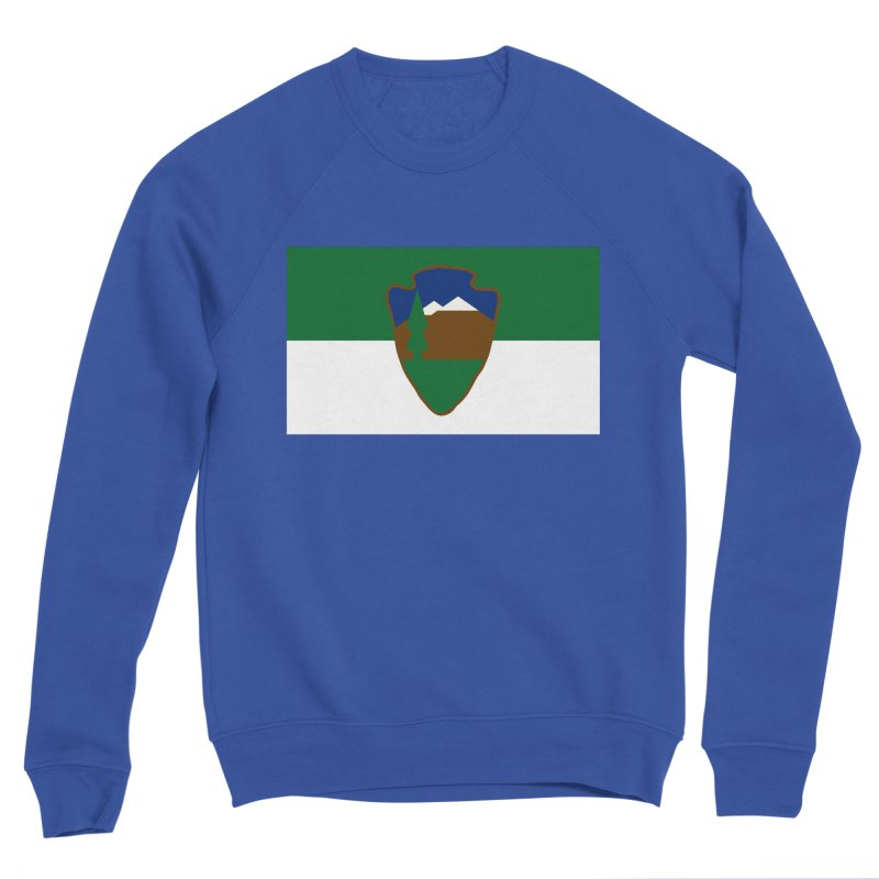 National Park Service Flag Women's Sweatshirt by OR designs