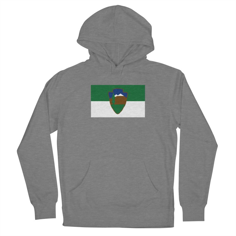 National Park Service Flag Women's Pullover Hoody by OR designs