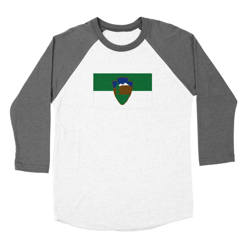 National Park Service Flag Women's Longsleeve T-Shirt by OR designs