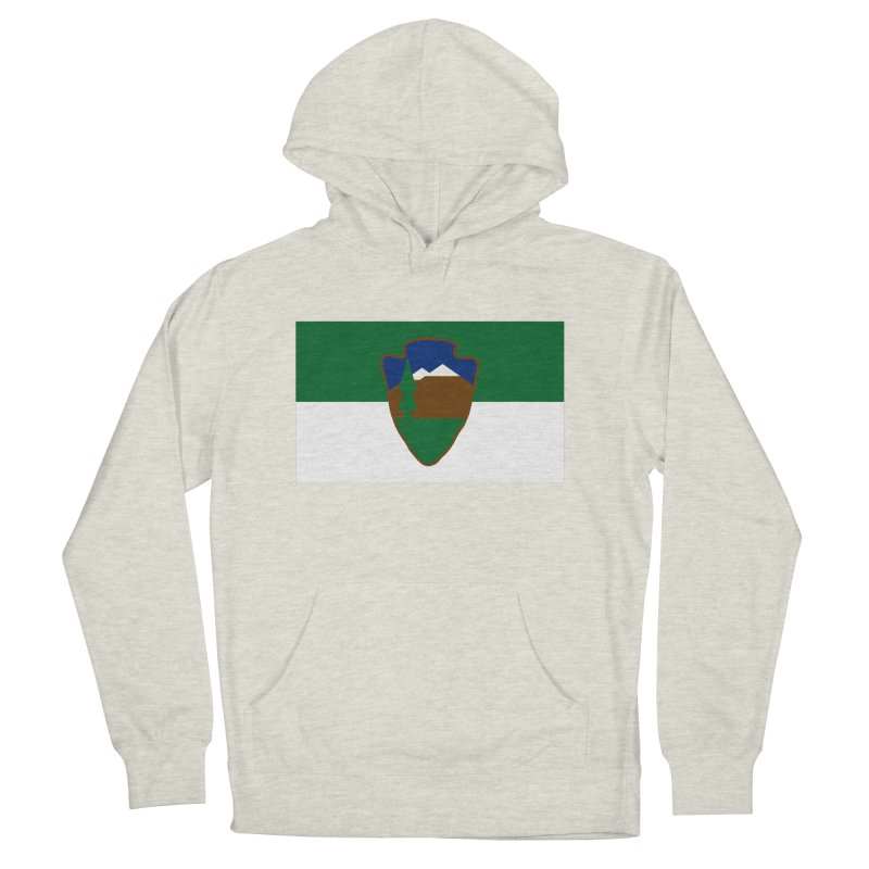 National Park Service Flag Women's French Terry Pullover Hoody by OR designs