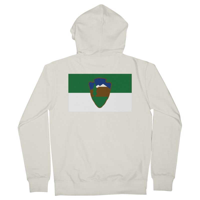 National Park Service Flag Women's Zip-Up Hoody by OR designs