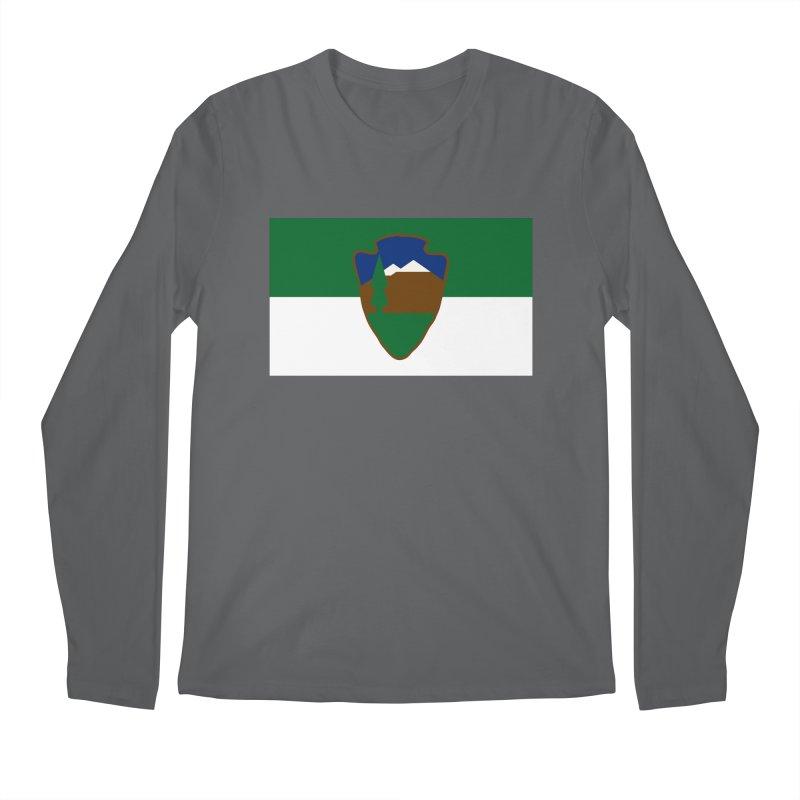 National Park Service Flag Men's Regular Longsleeve T-Shirt by OR designs
