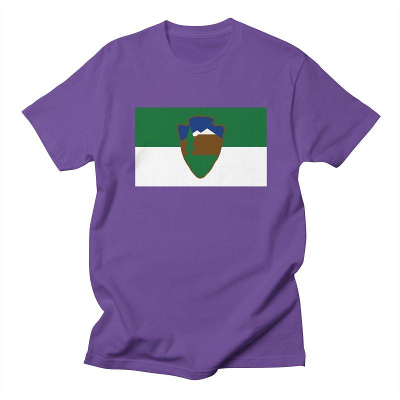 National Park Service Flag Women's Regular Unisex T-Shirt by OR designs