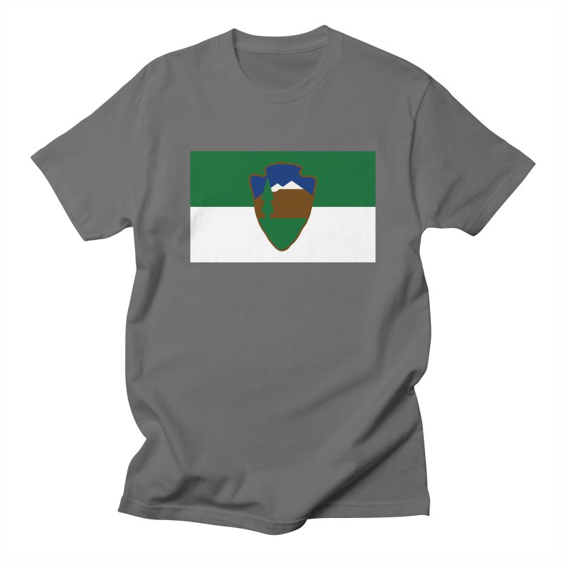 National Park Service Flag Men's T-Shirt by OR designs