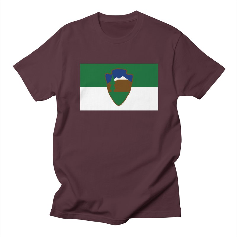 National Park Service Flag Men's Regular T-Shirt by OR designs