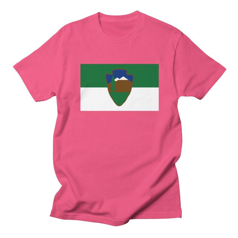 National Park Service Flag Men's Regular T-Shirt by OR designs