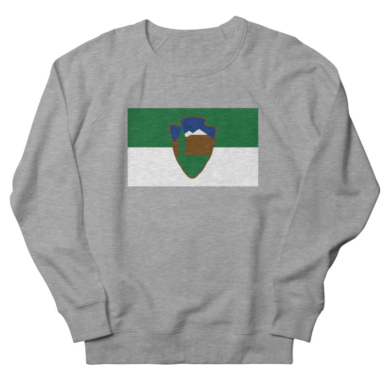 National Park Service Flag Women's French Terry Sweatshirt by OR designs