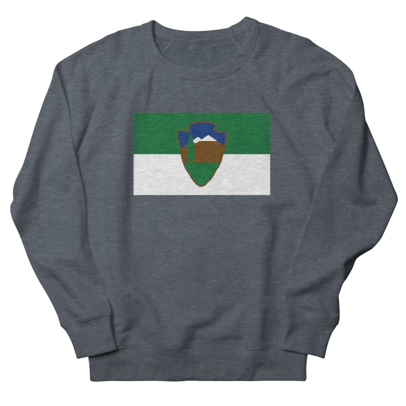 National Park Service Flag Men's French Terry Sweatshirt by OR designs