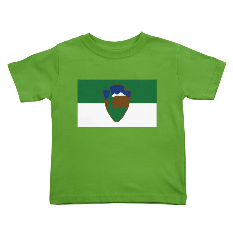 National Park Service Flag Kids Toddler T-Shirt by OR designs