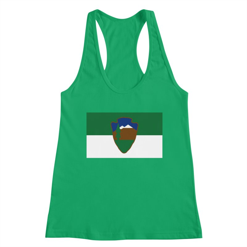 National Park Service Flag Women's Tank by OR designs