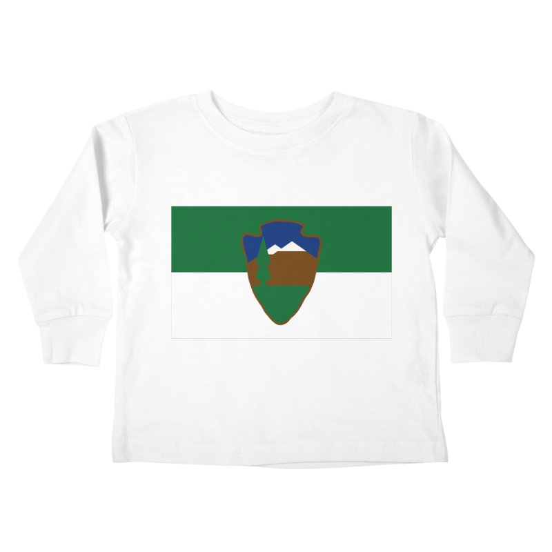 National Park Service Flag Kids Toddler Longsleeve T-Shirt by OR designs