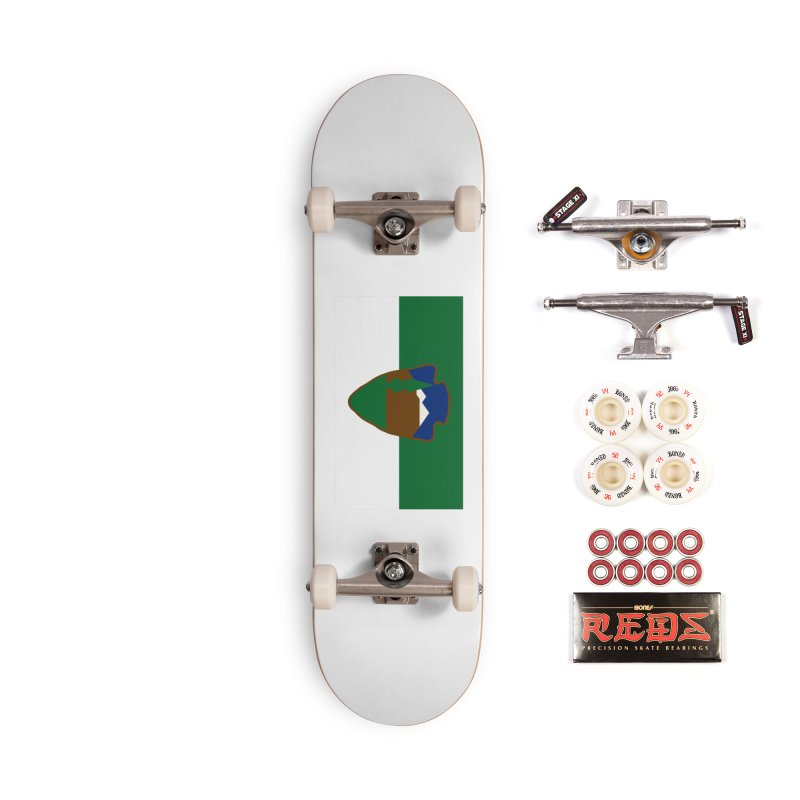 National Park Service Flag Accessories Complete - Pro Skateboard by OR designs