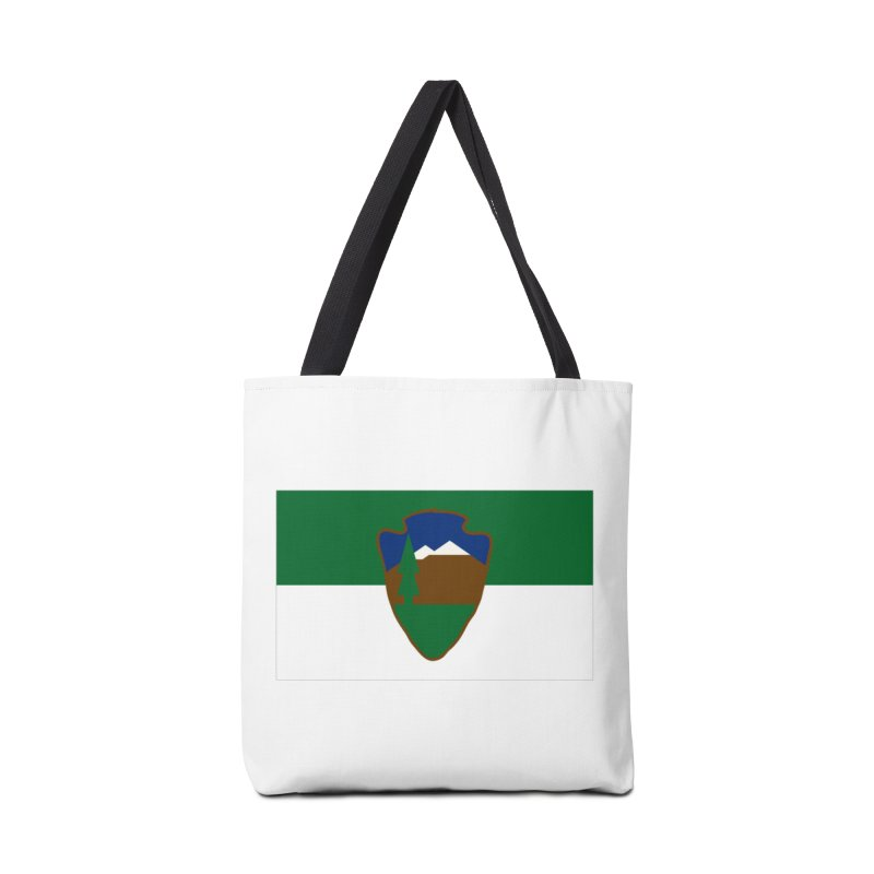 National Park Service Flag Accessories Tote Bag Bag by OR designs