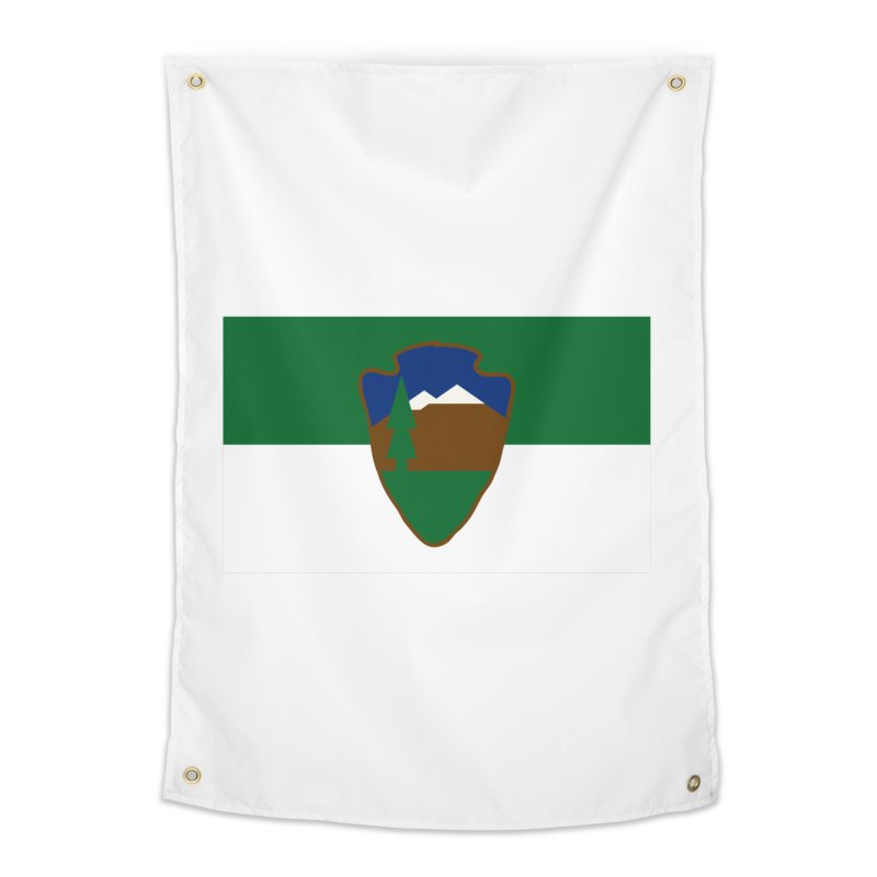 National Park Service Flag Home Tapestry by OR designs