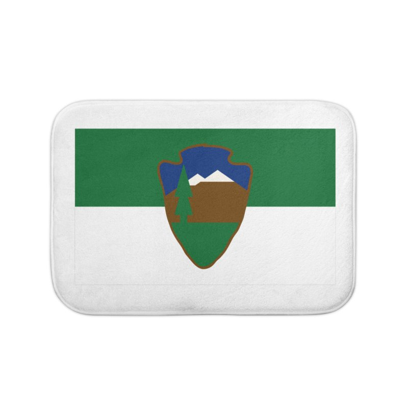 National Park Service Flag Home Bath Mat by OR designs