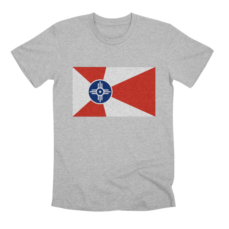 Wichita City Flag Men's Premium T-Shirt by OR designs